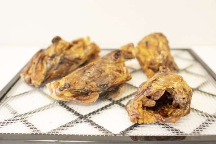 dehydrated chicken backs for dogs