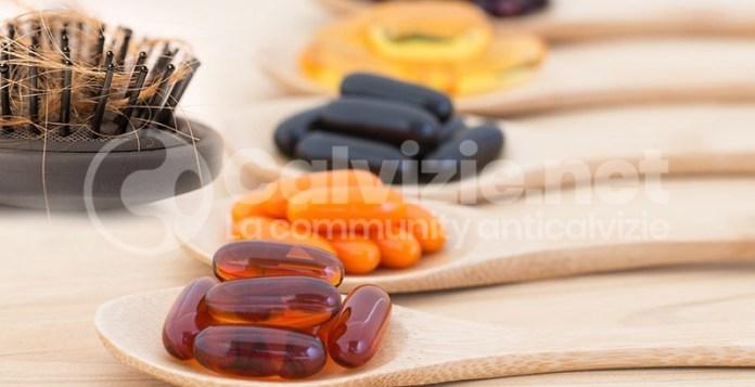 effluvio vitamine