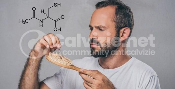 acetilcisteina per capelli