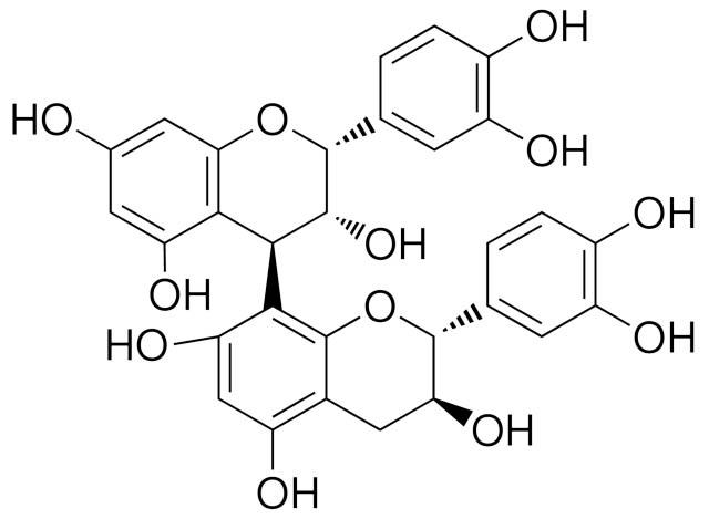 proantocianidina B2 molecola struttura chimica