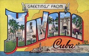 Havana post card