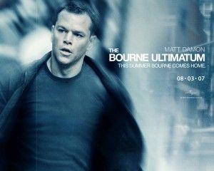 Matt Damon Bourne Ultimatum poster