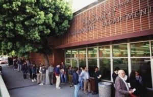 california-unemployment-line