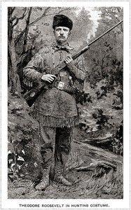 teddy roosevelt hunting