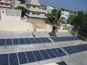rooftop solar, wikimedia
