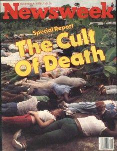 Jonestown massacre Newsweek cover
