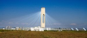 Solar power tower, wikimedia