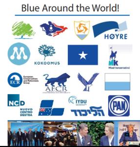 Blue Around the World