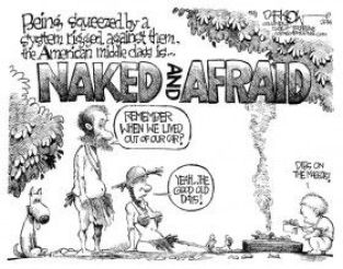 middle class, John Darkow,cagle, July 5, 2014