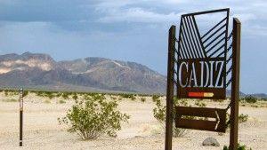 Cadiz Water sign