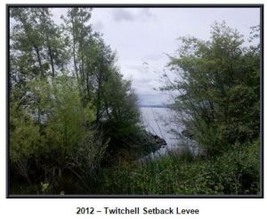 Twitchell setback levee, DWR photo