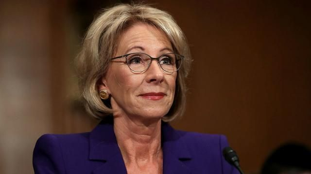 Education Secretary DeVos explicitly OKs controversial state school evaluations
