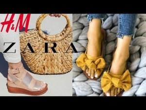 Avance de Temporada Calzado de ZARA Y H&M Primavera Verano 2019 | Moda Mujer Sandalias 2019