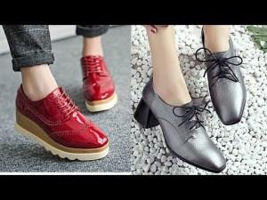 Zapatos de moda 2019 CALZADO CÓMODO otoño invierno