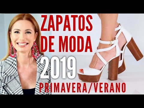 Zapatos de moda Primavera Verano 2019| Desiree Lowry