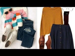Tendencia 2020 Combinaciones Otoño Invierno Mujer Delicadas Outfits Moda y Tendencia 2020