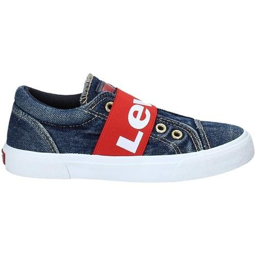 Zapatillas de Lona goma jean Levi's lado
