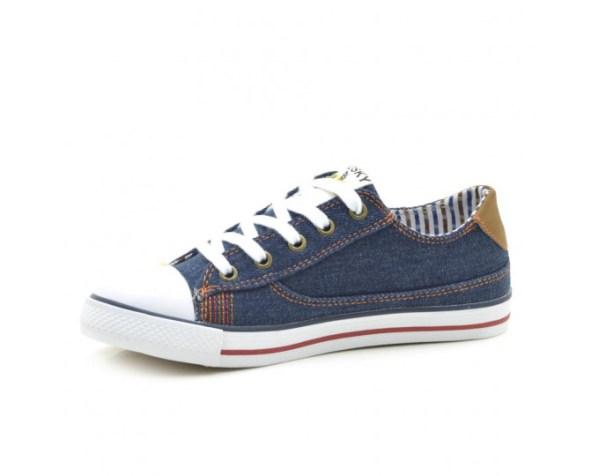 Zapatillas de Lona niño azul 955920 Pablosky interior