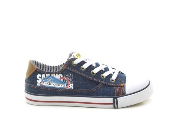Zapatillas de Lona niño azul 955920 Pablosky