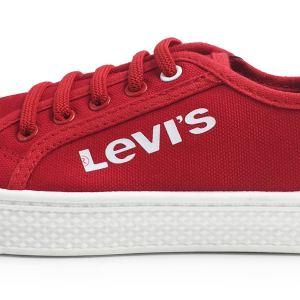 Zapatillas de Lona Malibu roja Levi's