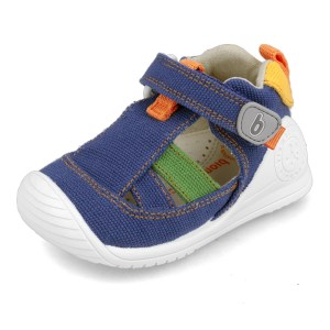 Cangrejeras de Lona para bebé multicolor Biomecanics