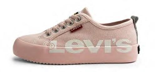 Zapatillas de Lona Betty rosa Levi's