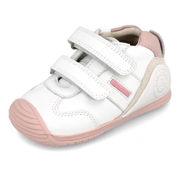 Deportivo Biomecanics para bebé Lia blanco-rosa
