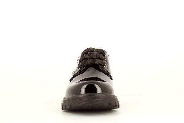 Zapato colegial charol negro 341619 Pablosky puntera