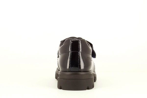 Zapato colegial charol marino 342429 Pablosky talón