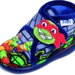 Botitas de casa para niño Tortuga ninja Zapy