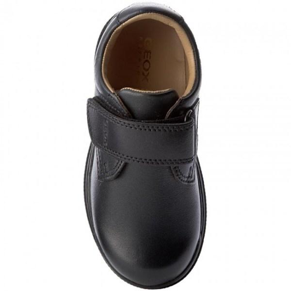 Zapato colegial J William niño marino Geox arriba