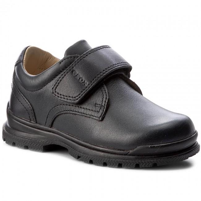 idiota Río Paraná Visible  Zapato colegial J William niño marino Geox - Calzapekes