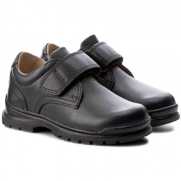 Zapato colegial J William niño marino Geox par