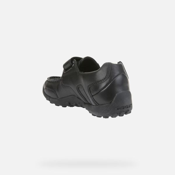 Zapatos Snake de niño Geox marino talón izq