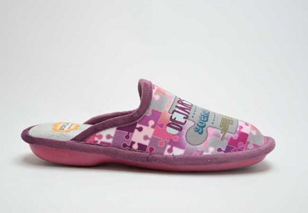 Zapatillas de casa Biorelax frase de lado