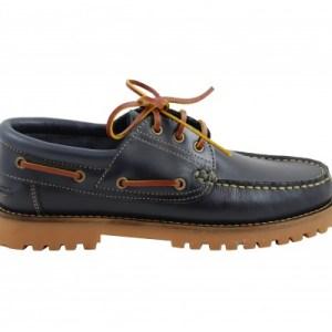 zapato de niño yowas marino lado