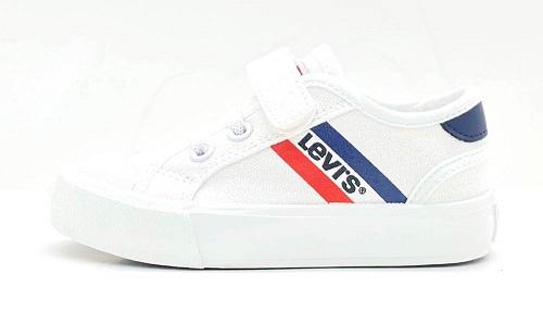 Zapatillas de Lona Mission mini blanca Levi's