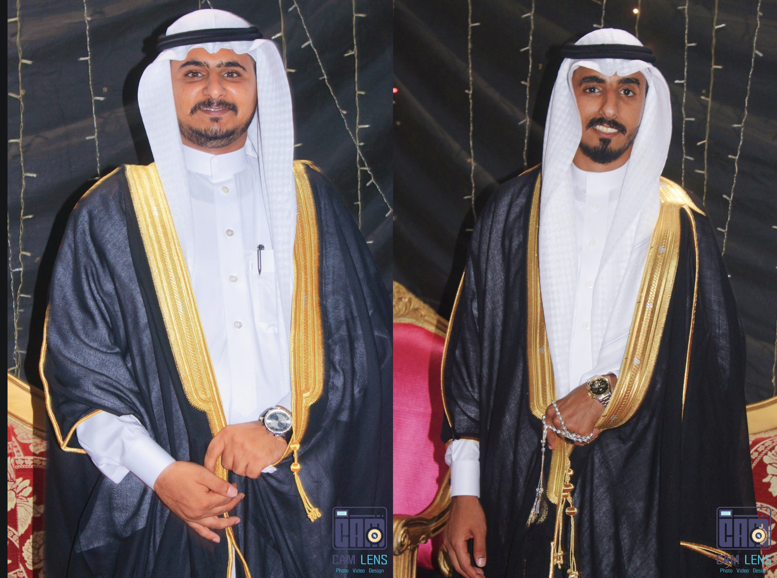 حفل زواج الشابان: خالد وثامر الربعي
