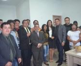 Membros de Associação de quadrilhas juninas e bandas de fanfarra são recebidos pelos Vereadores