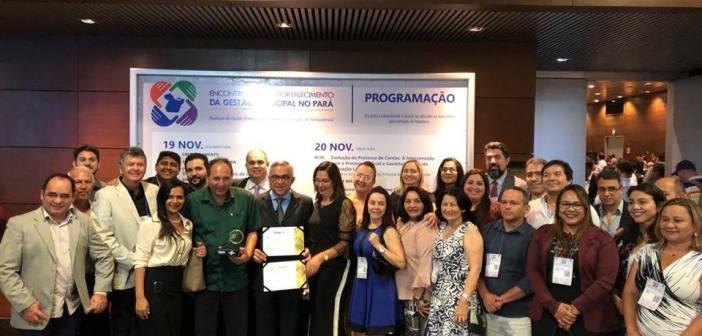 Câmara de Castanhal recebe premiação por alcançar 100% de Transparência e Legalidade