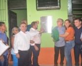 Vereadores Participam da reinauguração da Feira do Produtor Rural