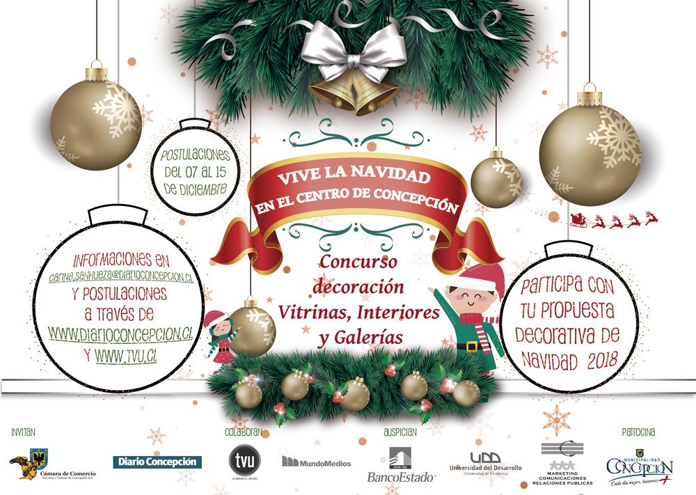 Bases Concurso: Vive La Navidad En El Centro De Concepción