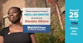 Affiche de la réunion publique de Nieul-lès-Sainte s(17) du 25 février 2017