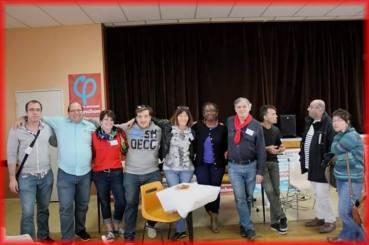 Avec l'équipe d'organisation de la Fête des Insoumis•e•s de Nieul-lès-Saintes (17)