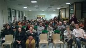 Une assemblée très attentiive à saint-Herblain (44) le 8 mars