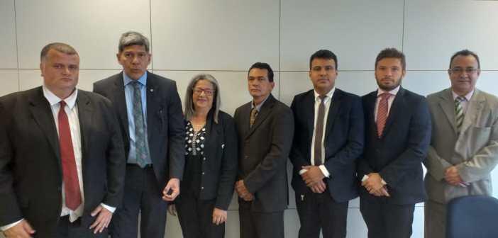 Vereadores em Reunião no Ministério do Desenvolvimento Regional em Brasília