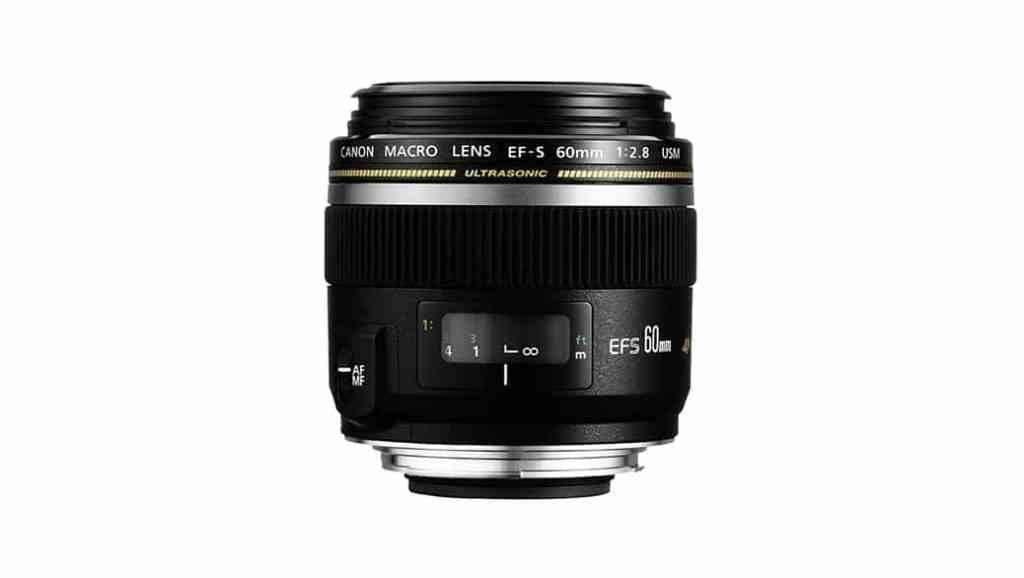 Objetivo Canon 60mm f/2.8 USM Macro: Pequeño y ligero