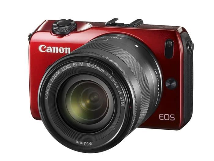 Canon EOS M Roja