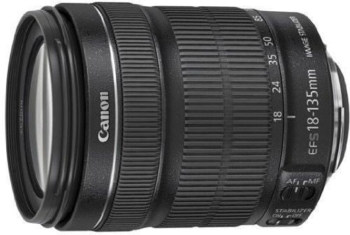 objetivo  Canon 18 - 135 mm