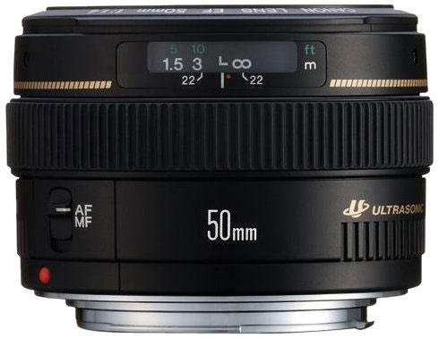 Canon EF 50mm f/1.4.